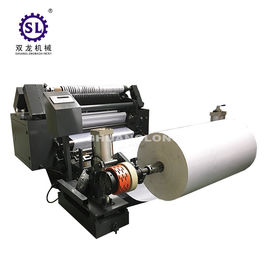 Surface Rewind Small Roll Slitter Rewinder PLC Control for Paper Straw