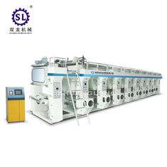 8 Color Rotogravure Printing Machine Computer Control Middle Speed